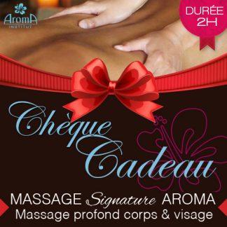 Aroma Bon Cadeau Massage Signature Du Corps 2h