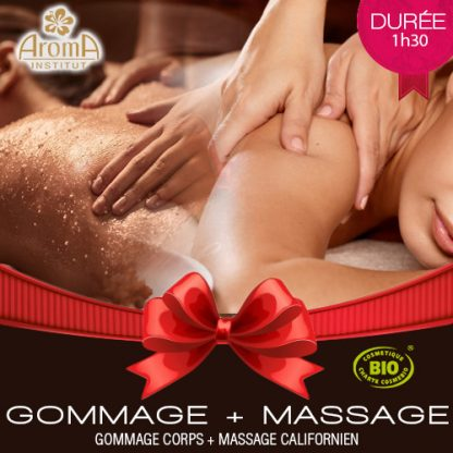 Aroma Cheque Cadeau Gommage Et Massage Californien