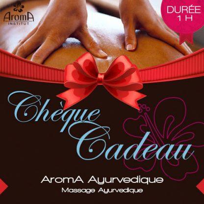 aroma cheque cadeau massage ayurvedique