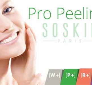 Chèque cadeau,Soin du visage pro Peeling Soskin de 30 minutes