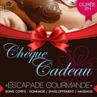 ESCAPADE GOURMANDE - SOINS CORPS : GOMMAGE + ENVELOPPEMENT + MASSAGE CALIFORNIEN