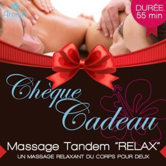 MASSAGE CALIFORNIEN TANDEM RELAX