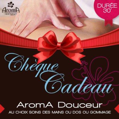 AROMA DOUCEUR - AU CHOIX GOMMAGE CORPS OU MASSAGE DOS OU MASSAGE PIEDS & JAMBES