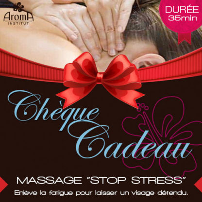 Aroma massage Stop Stress