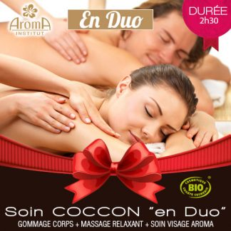 Aroma Cheque Cadeau Massage Cocoon En Duo